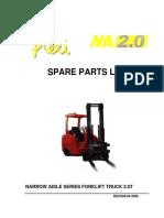 Flexi Spare Parts Lists