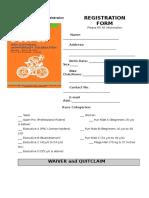 BTD 26_Registration Form
