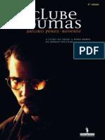 Arturo Pérez-Reverte - O Clube Dumas