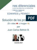 Ecuaciones Diferenciales Edwards y Penney Ed.4 Capítulo 3.1