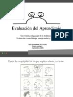PII Evaluacion Por El Aprendizaje Complejidad