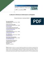 2009_Avaliação de Sistemas de Informações Em Hospitais