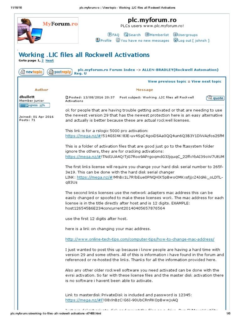 rslogix emulate 5000 v21 activation crack