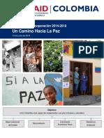 Estrategia de Cooperación USAID Colombia 2014-2018