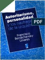 AUTORITARISMO-PERSONALIDAD