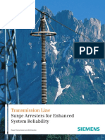 Siemens-Transmission Line Surge Arresers for Enhanced System Reliability