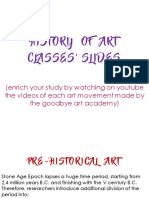 Slides of History of Art (until 19th century)