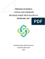 Program Kerja Instalasi Farmasi RS Petukangan