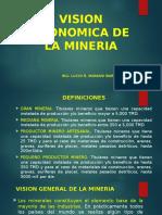 4. Vision Economica de La Mineria