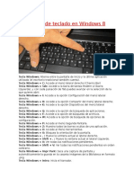~~Atajos de teclado en Windows 8