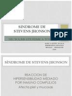 4.- Sindrome de Stevens Jhonson