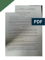 LOI sur l'extradition des Criminels Fugitifs  par le President CINCINATUS LECONTE