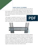 Uniones vigas columnas