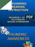 Phonemic c Mila