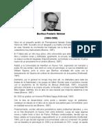 Biografia Skinner
