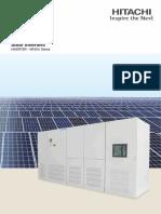 Solar Inverters Hitachi