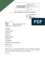 Informe 4 Síntesis de Cloruro de Benciltrietilamonio