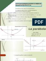La Parabola Ejercisio