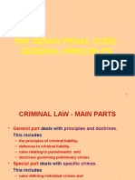 General Principles of Crime