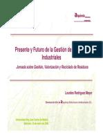 Presente y Futuro de la Gestión de Residuos Industriales
