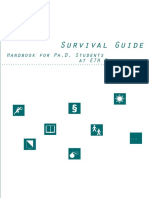 Survival Guide to PHD Students - Zurich