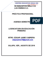 Agenda Semestral Séptimo Planeación-gestión Educativa