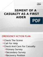 1.FIRST AID Assessment