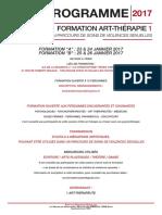 Formation Art Therapie Niv1_reunion_inscription_23 24 Ou 25 26 Janvier 2017