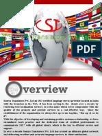 Best Language Translation Services - Our Linguistic Services (STPL)