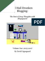 All Hail Drunken Blogging