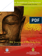 The Journey of the Holy Tree- Cultural Interface Between India and Sri Lanka