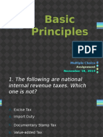 Basic Principles MC