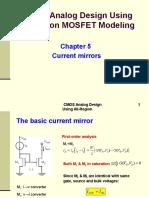 9085 CMOS Analog Design Chapter 5 (1)