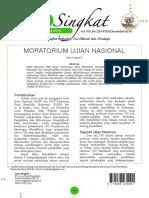 23 Moratorium Ujian Nasional
