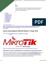 Step by Step Konfigurasi Mikrotik HotSpot @ Simple Mode « Sekedar Berbagi…