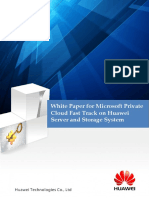 Microsoft Private Cloud Fast Track on Huawei Server and Storage System White Paper