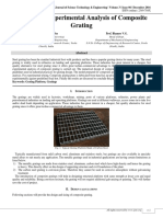 Design and Experimental Analysis of Composite Grating