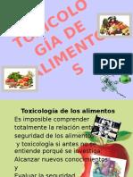 Toxicologia en Alimentos