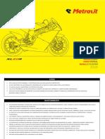 Manual Metrakit XL80R