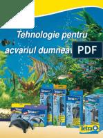 ACVARIU Brosura Tetra Tehnologie Pentru Acvariul Dumneavoastra Fisa Tehnica