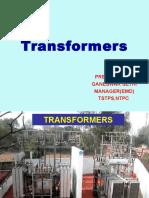 Transformer Maintienence