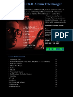COMPLET GRATUIT ALBUM LACRIM CORLEONE TÉLÉCHARGER