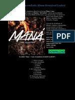 Maná – Cama Incendiada Album Download Leaked
