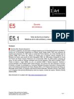 E5.1.Taller Escritura Creativa ESCUELAVERANO