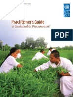 Practitioner Guide Sustainable Procurement
