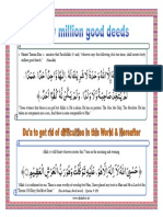Forty Million Good Deeds