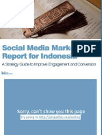 Social Media Marketing Report for Indonesia