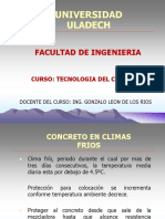 7.1. Concreto Climas Frios