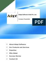 Adapt Software Introduction _Jan2017