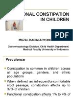 Masalah Gastrointestinal Konstipasi